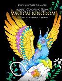 Magical Kingdom Adult Coloring Book