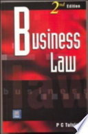 """""""Business Law"""" by P. C. Tulsian"""