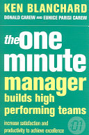 The One Minute Manager Builds High Performing Teams Book