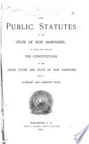 The Public Statutes of the State of New Hampshire