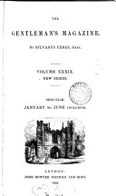 The Gentleman's Magazine -- Volume XXXIX