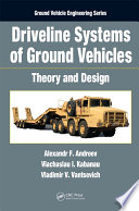 Driveline Systems of Ground Vehicles Book