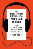 The Biographical Dictionary of Popular Music Pdf/ePub eBook