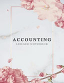 Accounting Ledger Notebook