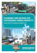 Planning and Design for Sustainable Urban Mobility