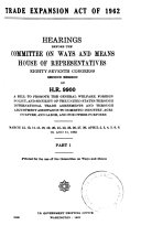 Trade Expansion Act of 1962  87 2