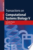 Transactions on Computational Systems Biology V