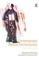 Contemporary Biblical Hermeneutics
