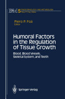 Humoral Factors in the Regulation of Tissue Growth [Pdf/ePub] eBook