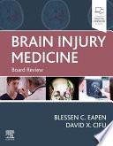 Brain Injury Medicine E Book Book