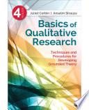 Basics of Qualitative Research Book
