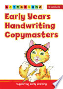 Books - Letterland Early Years Handwriting Copymasters (CAPS) | ISBN 9781862092501