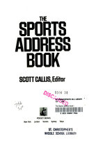 The Sports Address Book