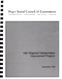 Regional Transportation Improvement Program Book