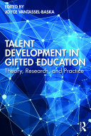 Talent Development in Gifted Education