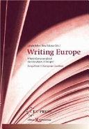 """Europa Schreibt. Was Ist Das Europ""""ische an Den Literaturen Europas?."""