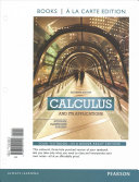 Calculus and Its Applications  Books a la Carte Edition
