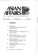 Asian Affairs, an American Review