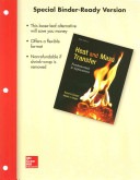 Loose Leaf for Heat and Mass Transfer  Fundamentals and Applications