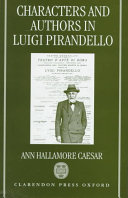 Characters and Authors in Luigi Pirandello