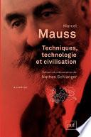 Techniques Technologie Et Civilisation