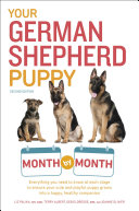 Your German Shepherd Puppy Month by Month  2nd Edition