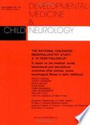 The National Childhood Encephalopathy Study Book