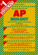 Barron s how to Prepare for the Advanced Placement Examination AP Biology Book