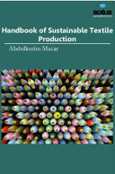 Handbook of Sustainable Textile Production Book