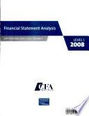 CFA Program Curriculum: Financial statement analysis