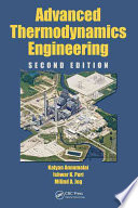 Advanced Thermodynamics Engineering, Second Edition