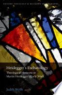 Heidegger S Eschatology