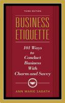 Business Etiquette, Third Edition