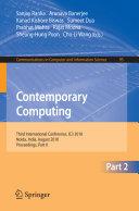 Contemporary Computing