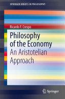 Philosophy of the Economy