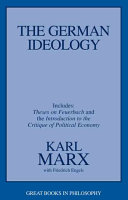 The German Ideology Book