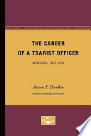 The Career of a Tsarist Officer