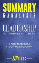 Summary   Analysis of Leadership