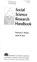 Social Science Research Handbook