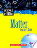 Discovering Science Through Inquiry  Matter Kit Book