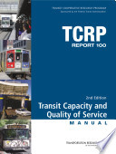 Transit Capacity and Quality of Service Manual Book