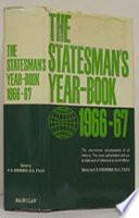 The Statesman s Year Book 1966 67
