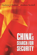 China s Search for Security