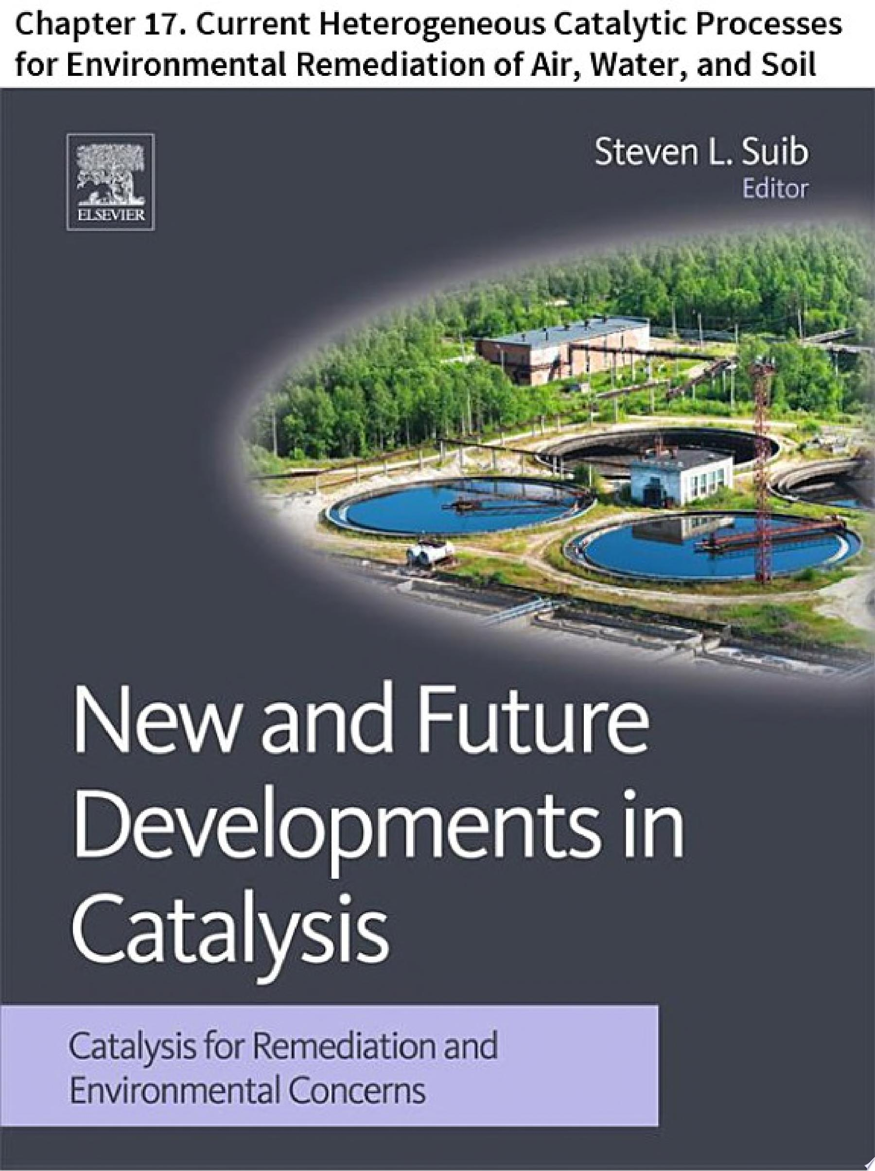 New and Future Developments in Catalysis