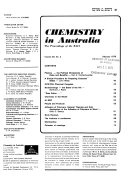 Chemistry in Australia Book