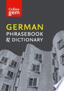 Collins German Phrasebook and Dictionary Gem Edition ebook  Collins Gem