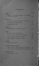 Bulletin of the Department of Agriculture, Trinidad and Tobago