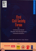 First Civil Society Forum on Community Based Disaster Risk Management Institutionalisation Book