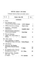 South Asian Studies