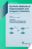 Synthetic Methods Of Organometallic And Inorganic Chemistry Volume 1 1996 Book PDF